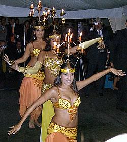 Habibi 1 - La danza del candelabro.
