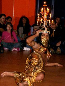 Habibi 1 - La danza del candelabro. 2da parte