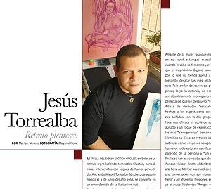 Entrevista en CG Placeres magazine